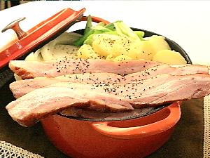 ベーコン鍋